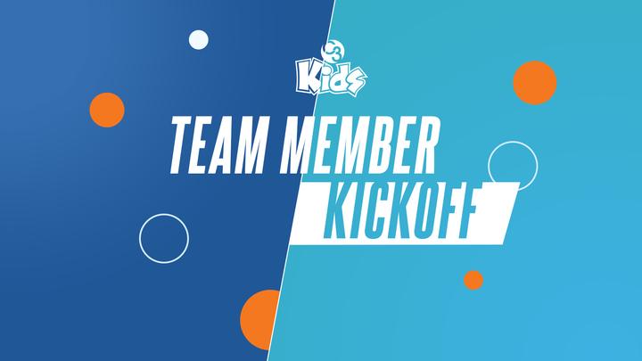 Kids Team Member Kickoff logo image