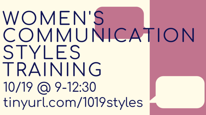 Communication Styles Training logo image