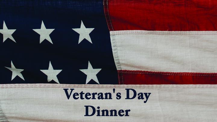 Veteran's Day Dinner logo image