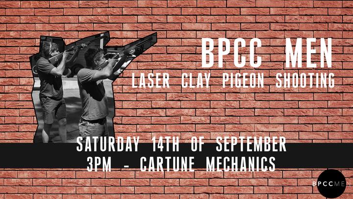 BPCC Men - Clay Pigeon Shooting logo image