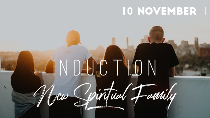 New Spiritual Family Induction November logo image