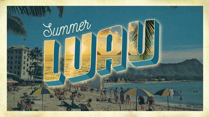 LUAU | Summer Saturday Night logo image