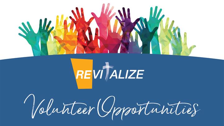 Revitalize Volunteer Opportunities logo image