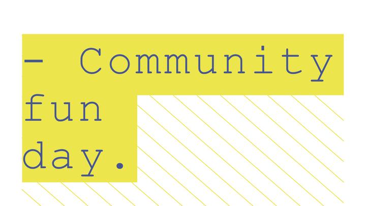 Community Fun Day logo image