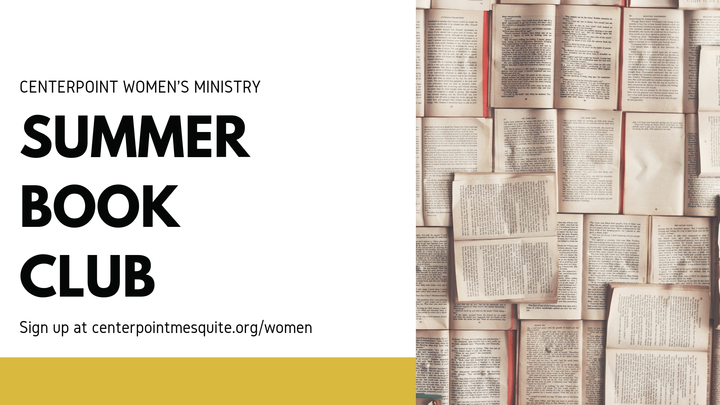 Centerpoint Church Women's Ministry Summer Book Club logo image