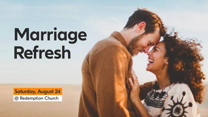 Marriage Refresh 2019 logo image