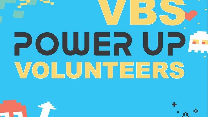 VBS VOLUNTEER SIGN UP logo image
