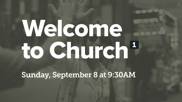 Welcome To Church logo image