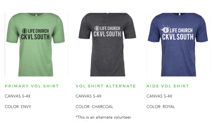 CKVL SOUTH Volunteer Shirt Order logo image