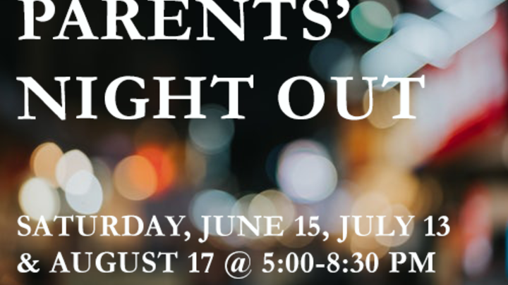 Parents' Night Out July logo image
