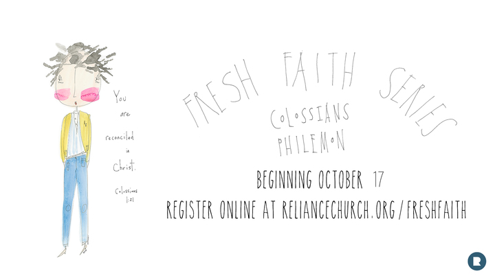 Fresh Faith - Colossians/Philemon Study logo image