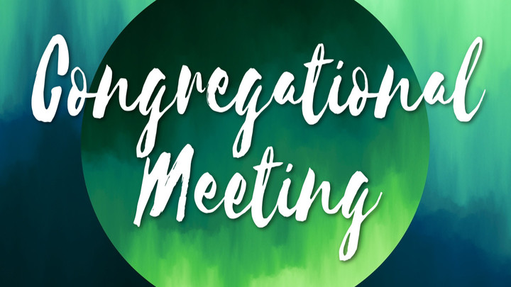 Quarterly Congregational Meeting and Meal logo image
