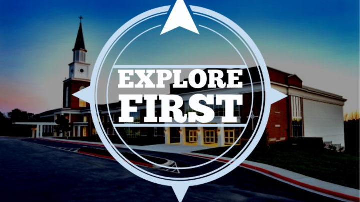 Explore First Luncheon logo image