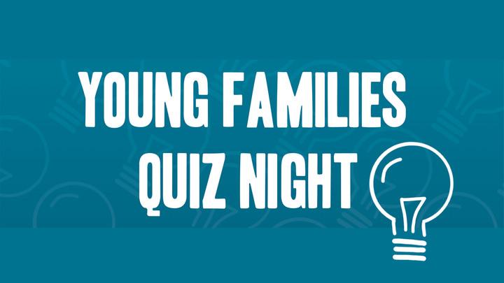 Young Families Quiz Night logo image