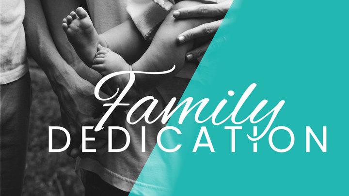 Family Dedication (Part of Celebration Sunday) logo image
