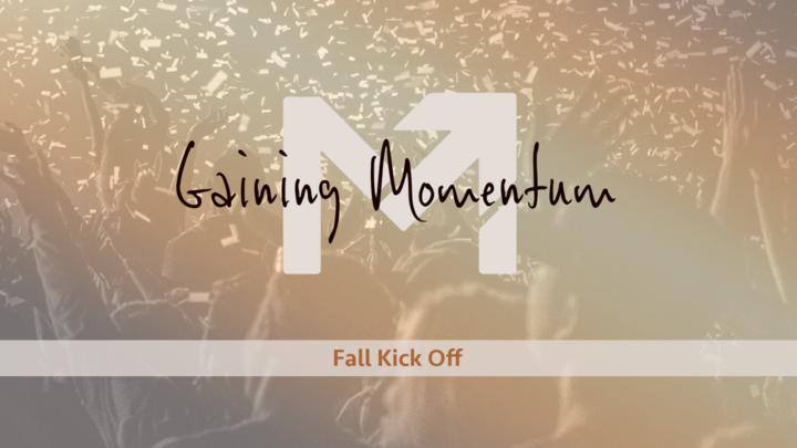 Gaining Momentum Fall Kick-Off logo image