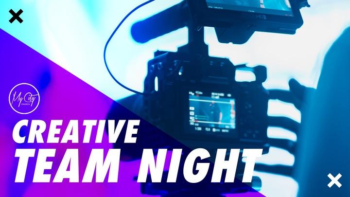 Creative Team Night logo image
