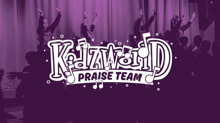 KidzWorld Praise Team Tryouts logo image