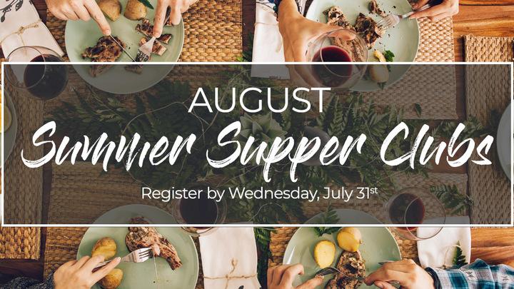 Summer Supper Clubs: August logo image