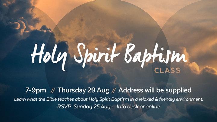 Holy Spirit Baptism Class logo image