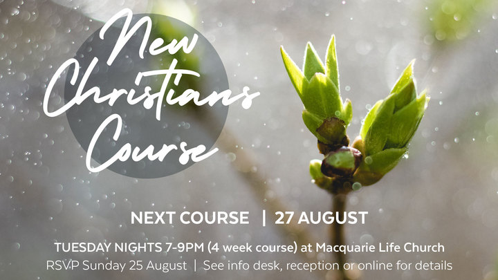 New Christians Course logo image