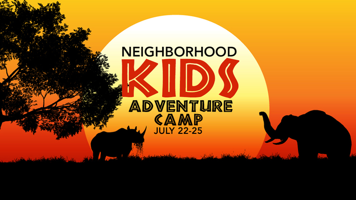 "NKids Adventure Camp 2019 - ""Into the Wild"" logo image"