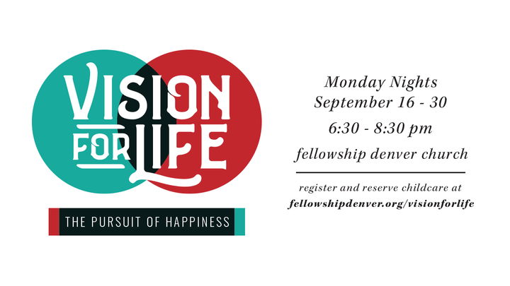Vision for Life - The Pursuit of Happiness logo image