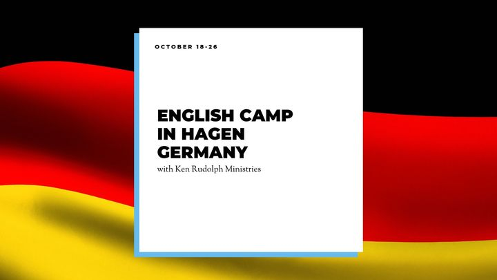English Camp in Hagen Germany logo image
