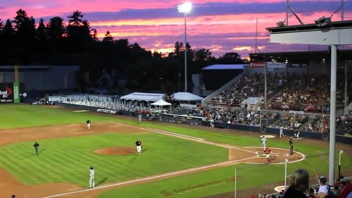 Westside @ the Vancouver Canadians vs Salem-Keizer Volcanoes (baseball) logo image