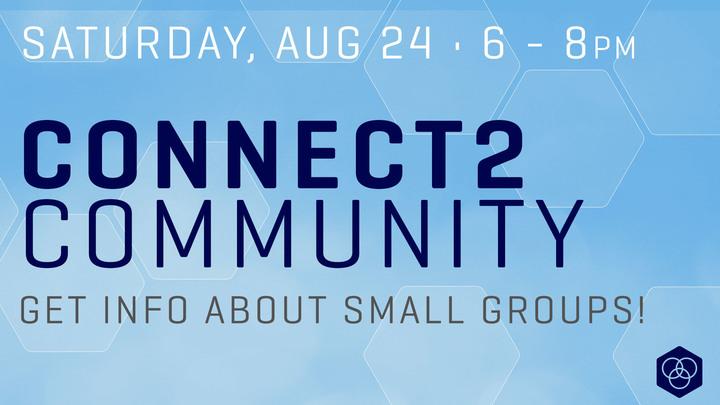 Connect 2 Community logo image
