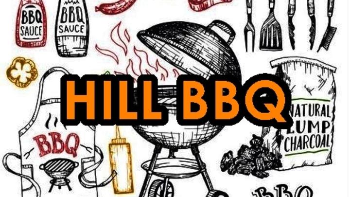 HILL BBQ, Saturday August 10th logo image