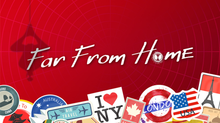 """Youth Camp 2019 """"Far From Home"""" logo image"""