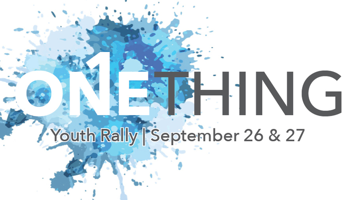 Youth Rally - September 26-27, 2019 logo image
