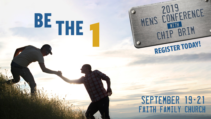Be the One! Men's Conference logo image