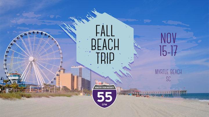 I-55 2019 Fall Beach Trip logo image