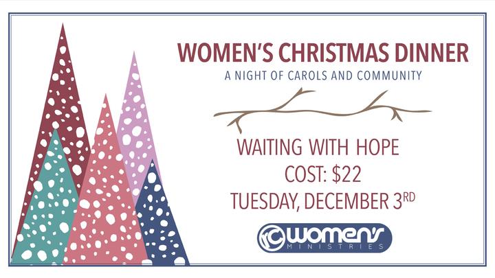 Women's Ministries Christmas Dinner logo image