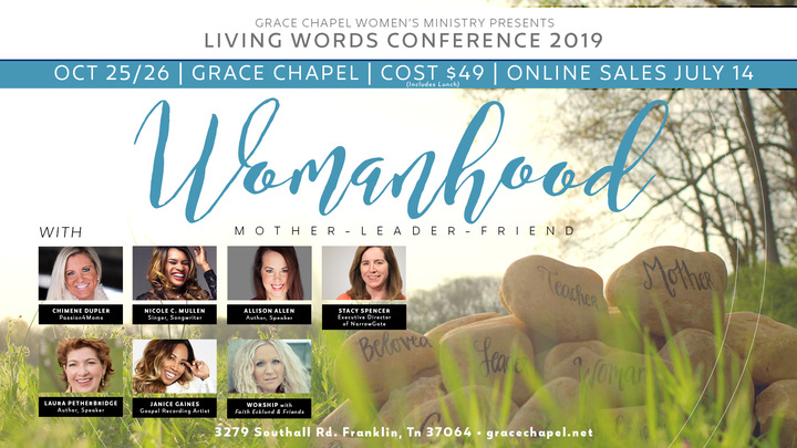 Women's Ministry Conference // Womanhood logo image
