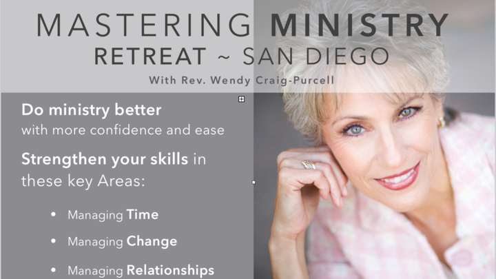 """Mastering Ministry"" Retreat logo image"