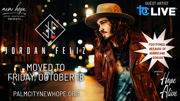 Jordan Feliz Concert Tickets logo image