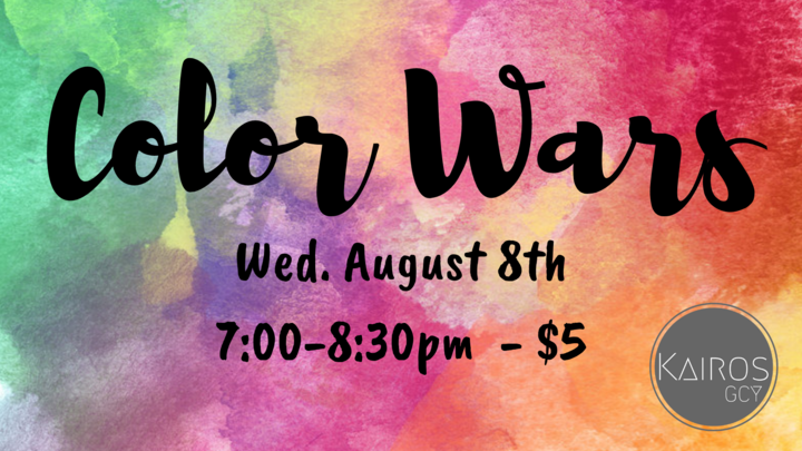 Youth Group Color Wars 2019 logo image
