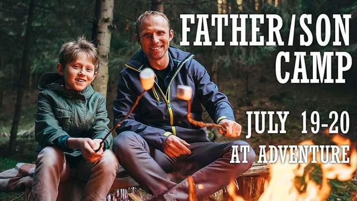 Father Son Camp logo image