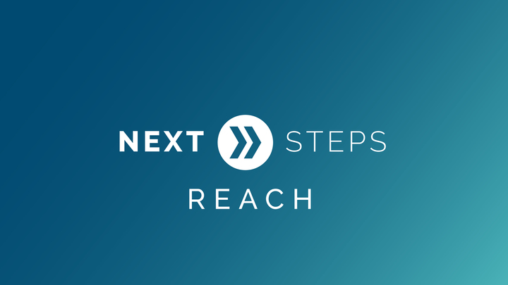 Next Steps: Reach logo image