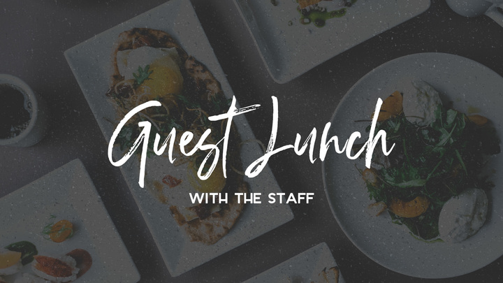 Guest Lunch with the Staff logo image