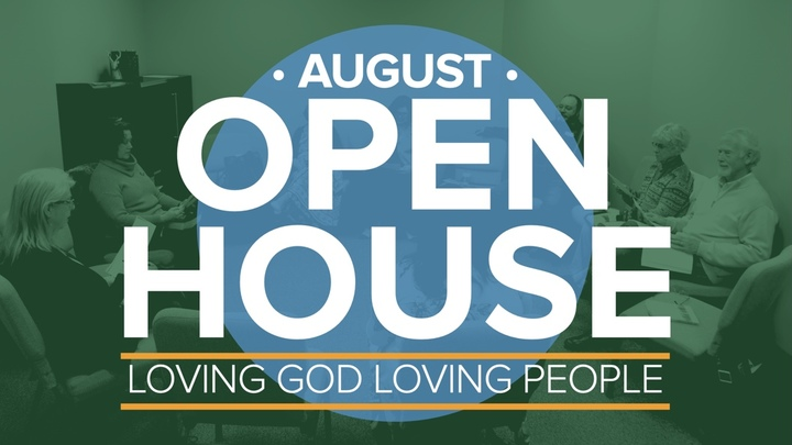 August Open House logo image
