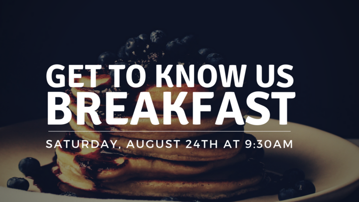 Get To Know Us Breakfast- August logo image