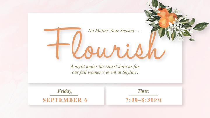 Flourish Women's Event logo image