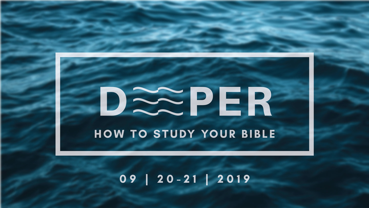 Deeper Weekend: How To Study Your Bible logo image