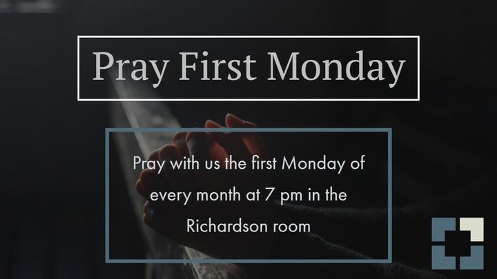 PRAY FIRST MONDAY logo image