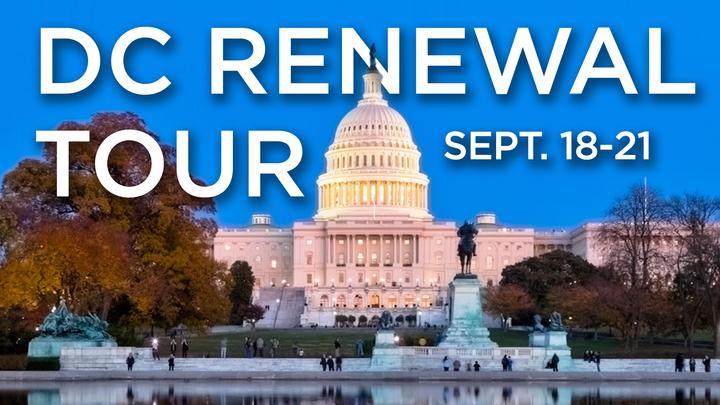 DC Renewal Tour logo image