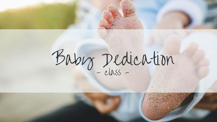 Baby Dedication Ceremony logo image